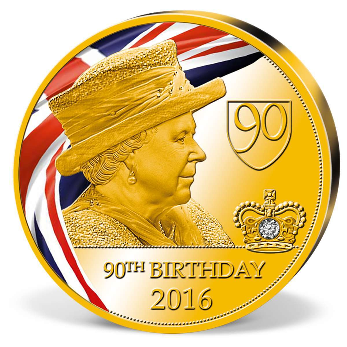 90th birthday commemorative strike - HD1200×1200
