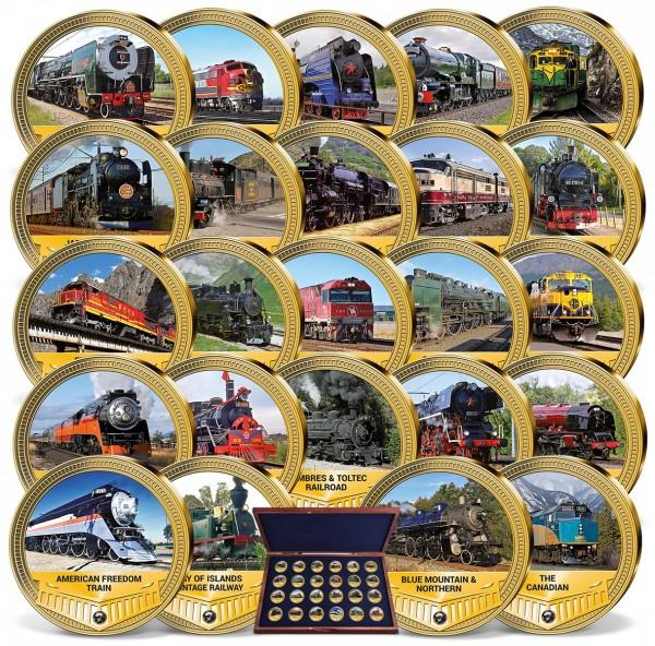 'Most Famous Railways 2021' Complete Set UK_1955125_1