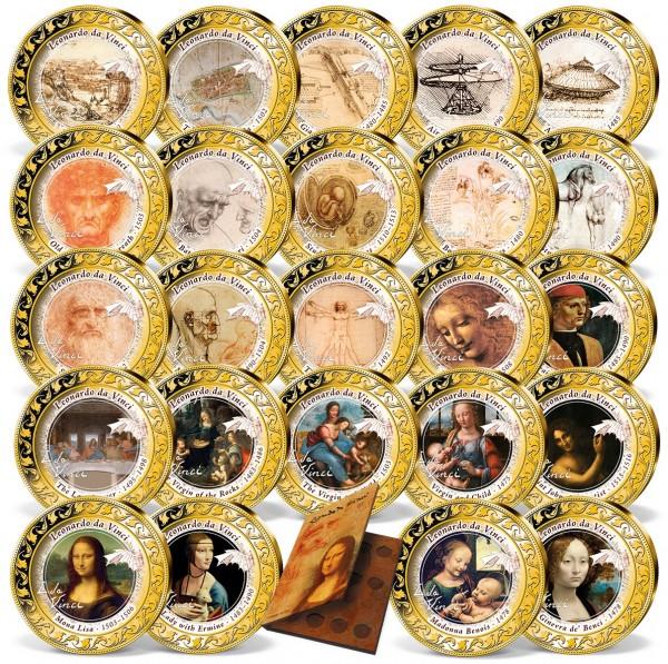 'Leonardo da Vinci' Complete Set UK_1960681_1