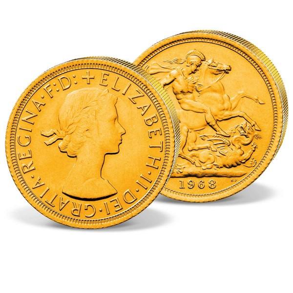 Elizabeth II. Sovereign 1957-68 UK_2460047_1