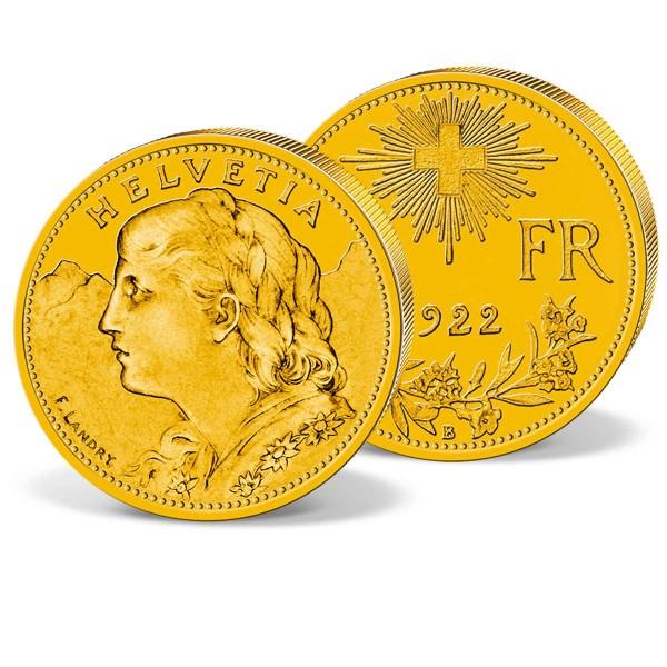 "The 10 Franc ""Vreneli"" Gold Coin UK_2460105_1"