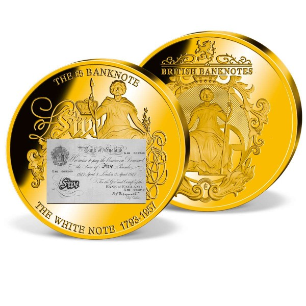'White £5 Banknote' Supersize Commemorative Strike UK_1942076_1