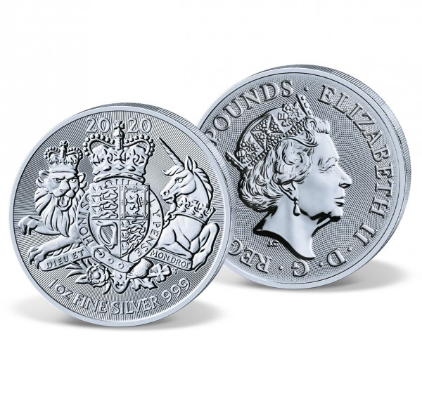2020 'Royal Arms' Official Silver Coin UK_2440152_1