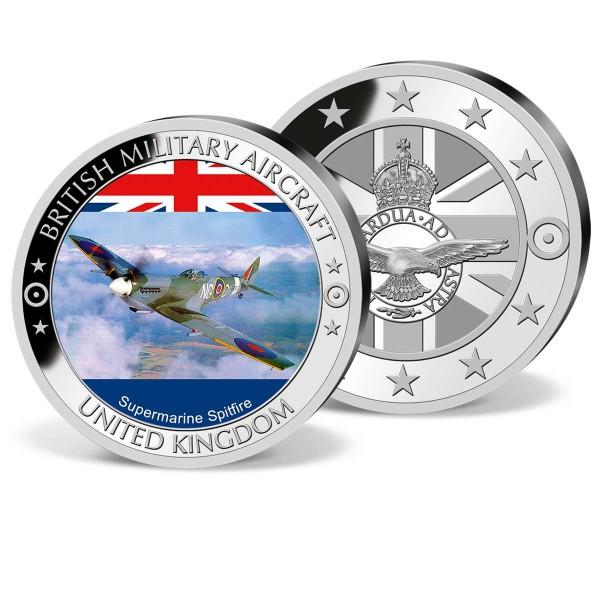 'Supermarine Spitfire Colour' Commemorative Strike UK_1952520_1
