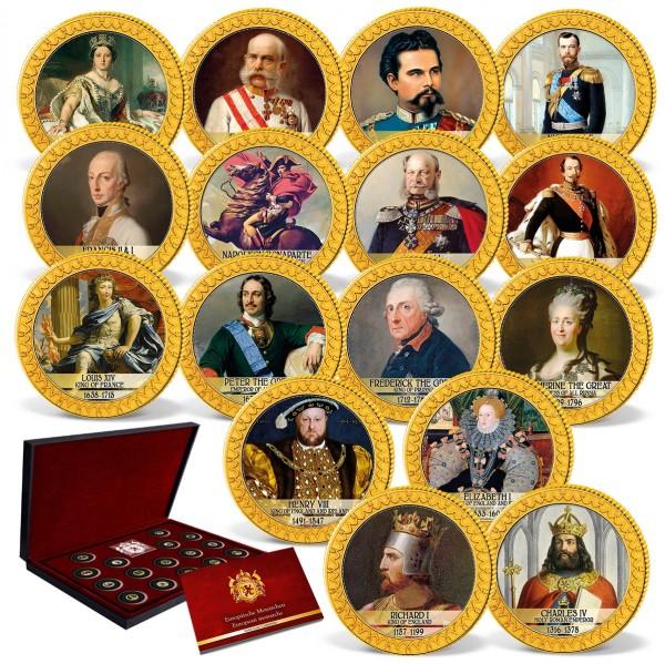 'European Monarchs' Complete Set UK_1739437_1