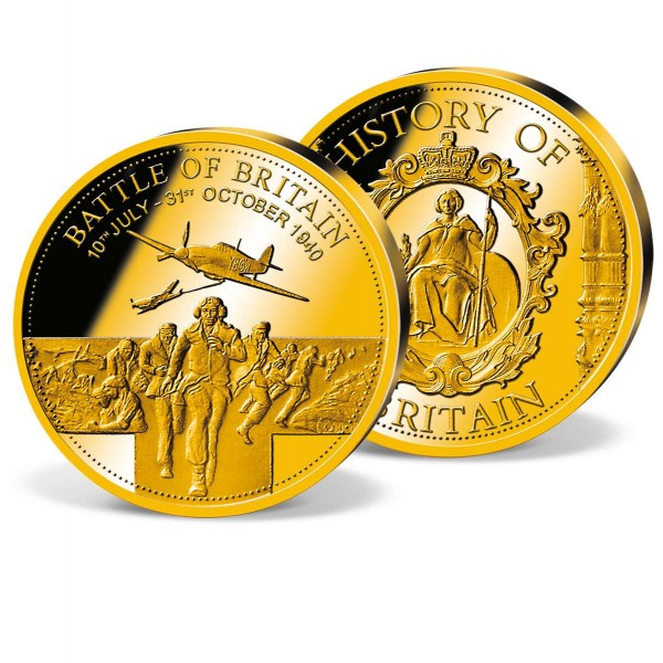 'Battle of Britain' Commemorative Gold Strike UK_8351302_1