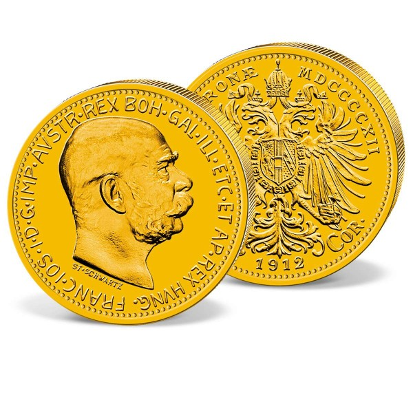 Gold Coin Ten Austrian Krone 1912 UK_2460030_1