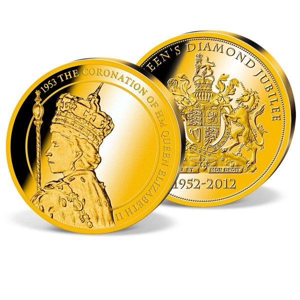 'The Coronation Portrait' Gold Commemorative Strike UK_9172806_1