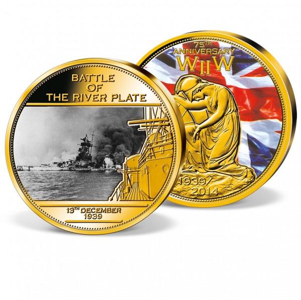 'Battle of River Plate' Commemorative Strike UK_9444611_1