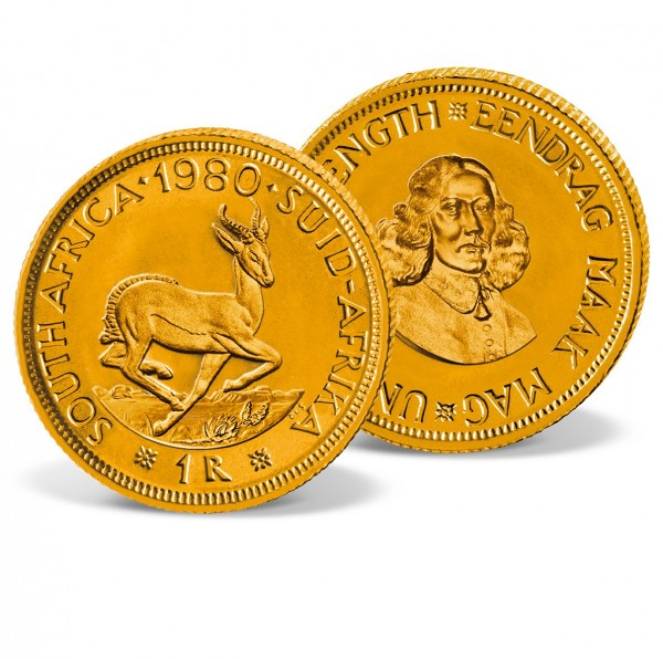 1 Rand South Afrika Gold Coin UK_1550005_1