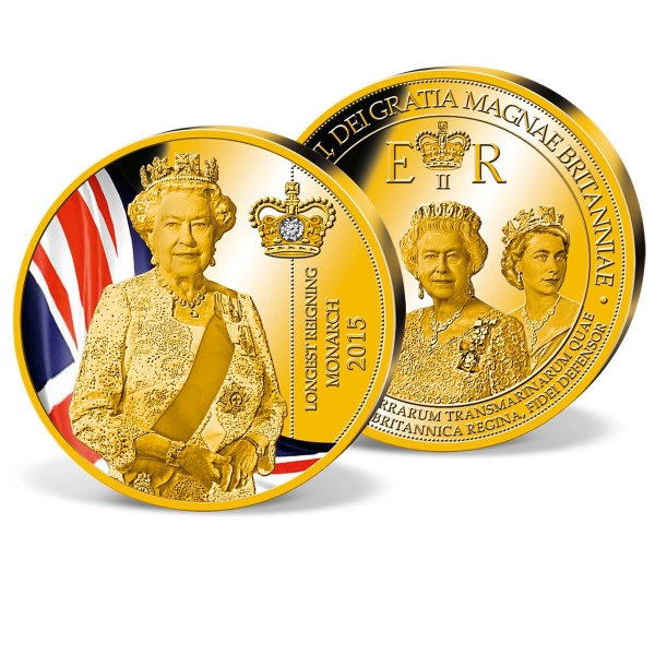 'Elizabeth II - Longest reigning Queen' Commemorative Strike UK_9173156_1