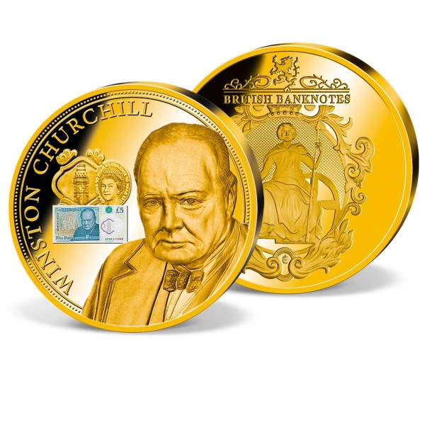 '£5 Polymer Banknote Winston Churchill' Commemorative Strike UK_1942031_1