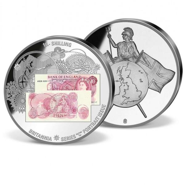 10 Shilling Banknote Commemorative Strike UK_1941090_1