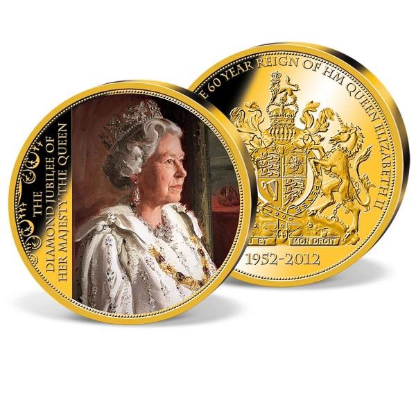 Portrait Paintig of Her Majesty Commemorative Strike UK_9172632_1
