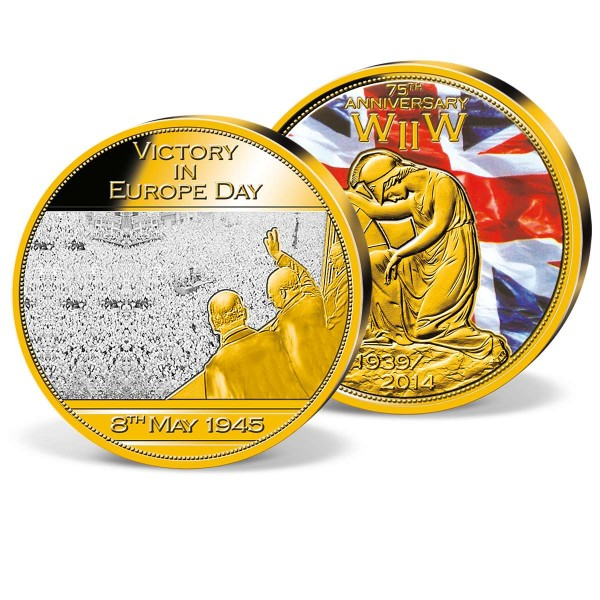 'Victory Day in Europe' Commemorative Strike UK_9444614_1