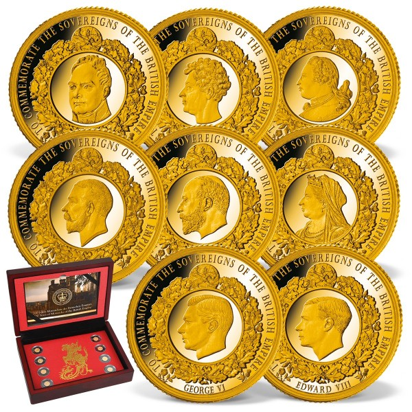 'The British Empire' Complete Gold Set UK_1739150_1
