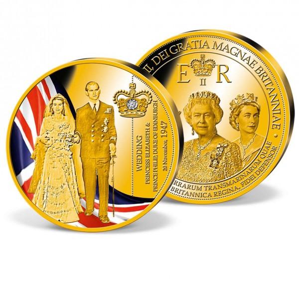 'Elizabeth II & Prince Philip' Commemorative Strike UK_9173155_1