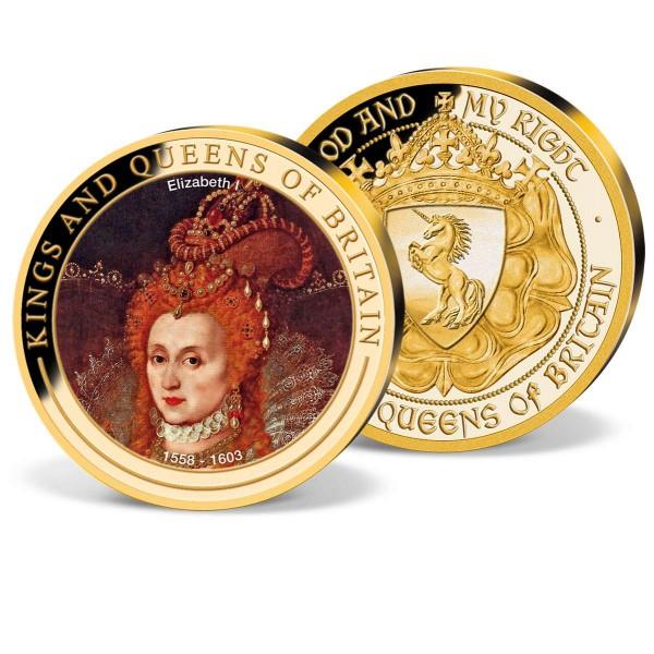 Elizabeth I 1558 - 1603 Commemorative Colour Strike UK_1952044_1