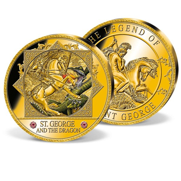 'Saint George and the Dragon' Ultra-large Commemorative Coin UK_9444952_1