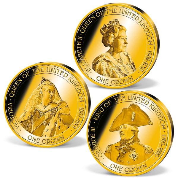 """Set """"Longest Reigning Monarchs"""" UK_1683306_1"""