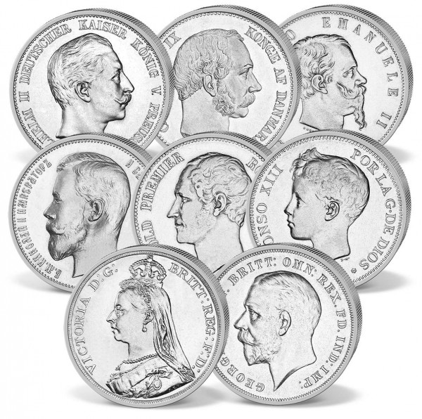 'Family Chronicle Queen Victoria' Silver Coin Set UK_2475160_1