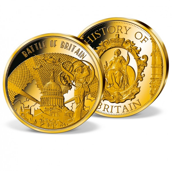 'Battle of Britain - 80th Anniversary' Commemorative Gold Strike UK_8351308_1