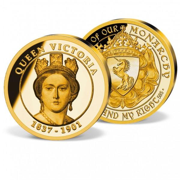 Queen Victoria Commemorative Gold Strike UK_1732425_1