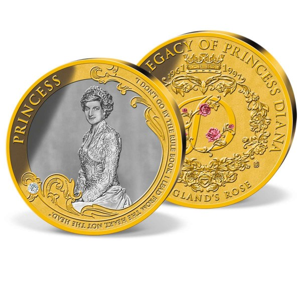 'Diana - Princess of Wales' Commemorative Coin UK_1950851_1
