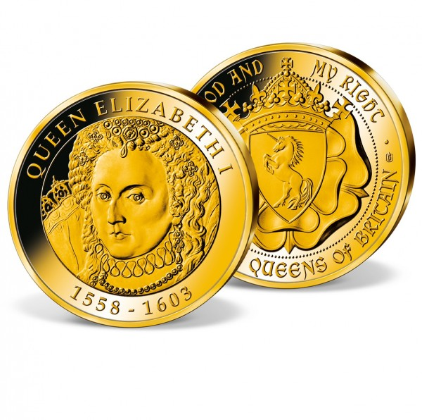 'Queen Elizabeth I of England' Commemorative Strike UK_1952050_1
