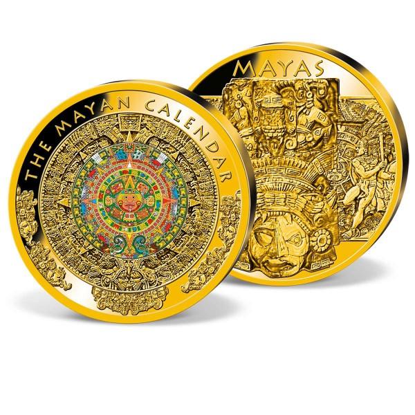 Mayan Calendar 70 mm Commemorative Strike UK_8330501_1