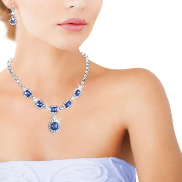 'Royal Sapphire' Necklace UK_3008750_1