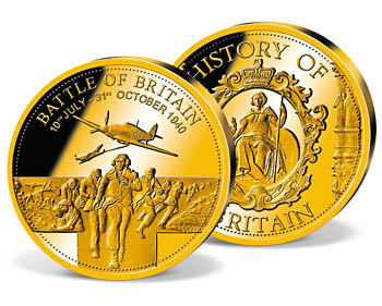 'Battle of Britain' Commemorative Gold Strike