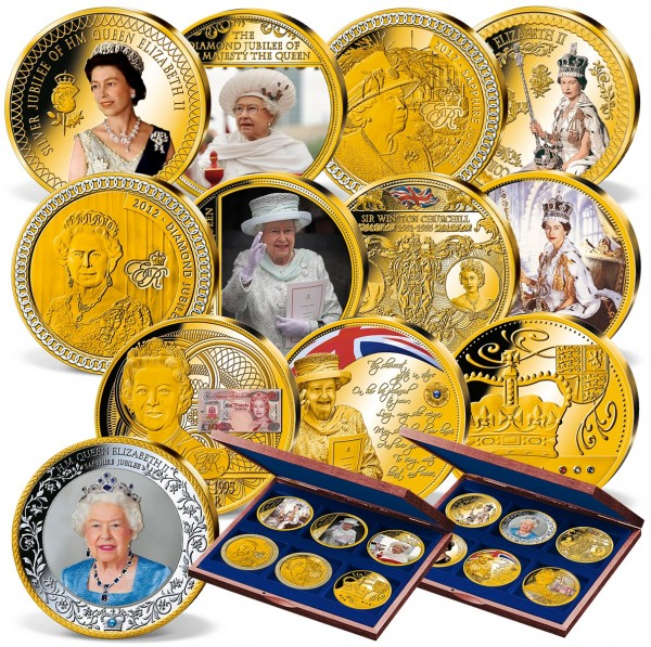 'Queen Elizabeth II' Complete Supersize Set UK_9440158_1