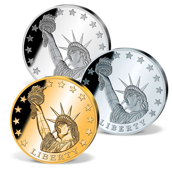 Statue of Liberty Commemorative Strike 3 Piece Set UK_1700263_1