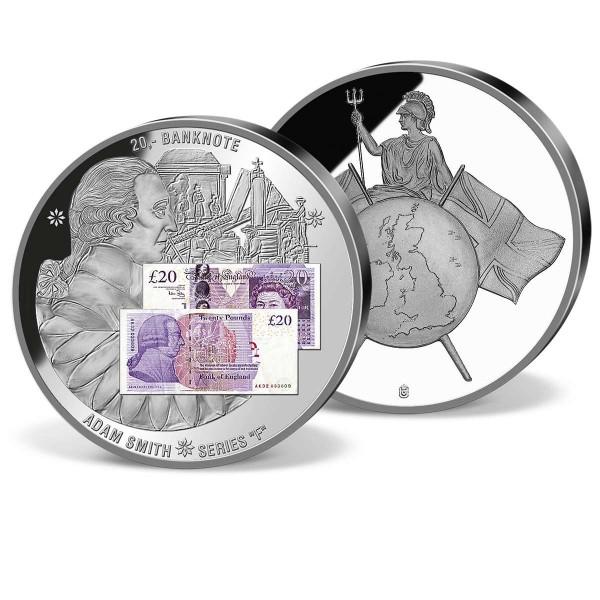 £20 Banknote Commemorative Strike F 2007 UK_1942002_1