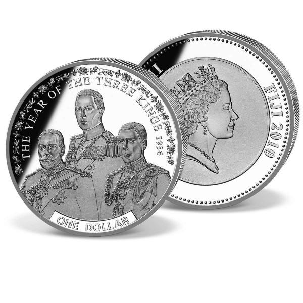 One Dollar Fiji  Year of the three Kings 1936 UK_1683004_1