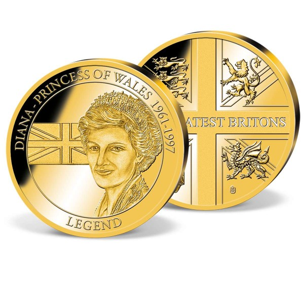 'Diana  Princess of Wales' Commemorative Gold Strike UK_2160326_1