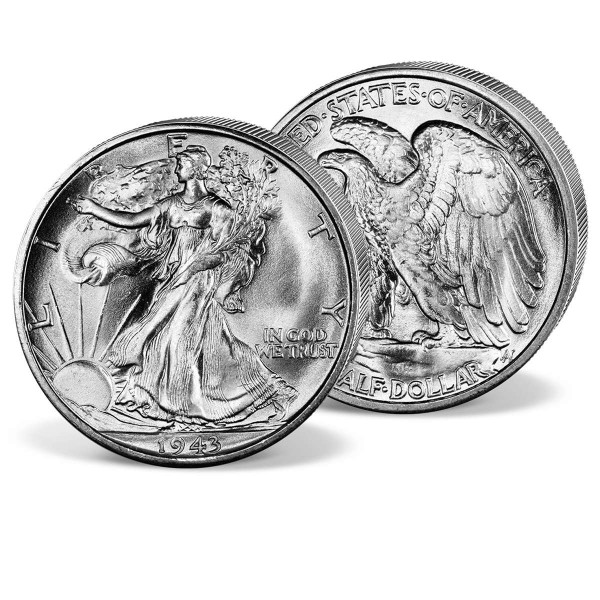 '1943 Walking Liberty' Half Dollar UK_2719536_1