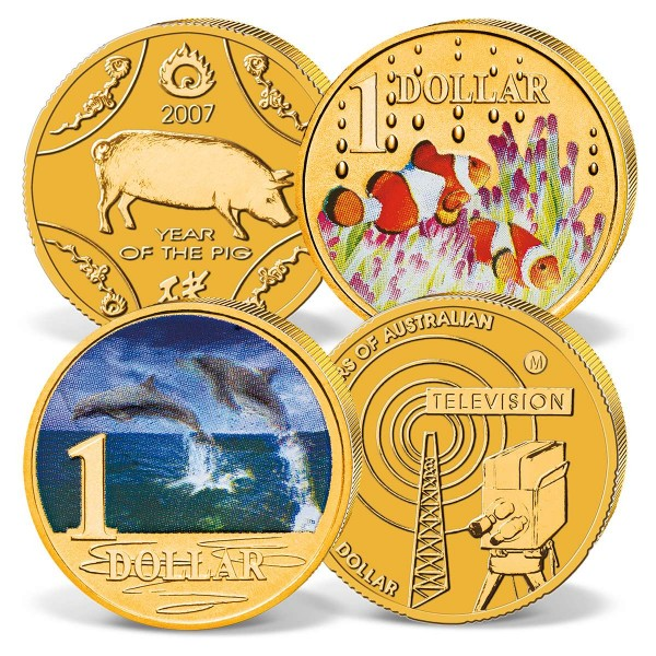4 coin set Australian Dollar UK_2730299_1