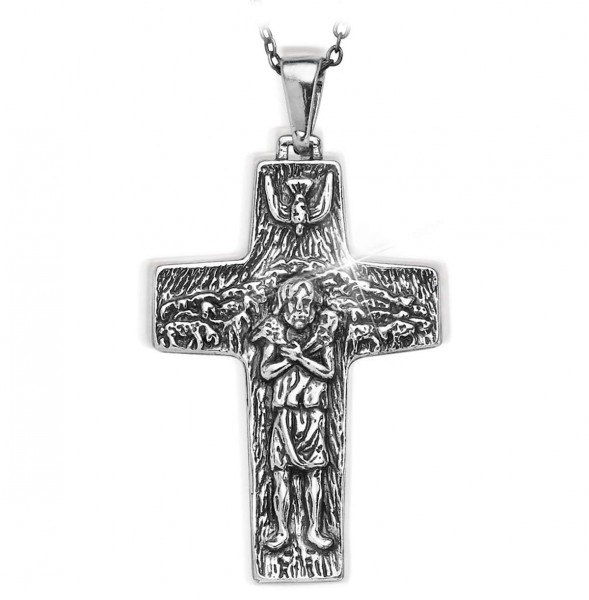 """Cross Necklace """"Pope Francis"""" UK_3008012_1"""