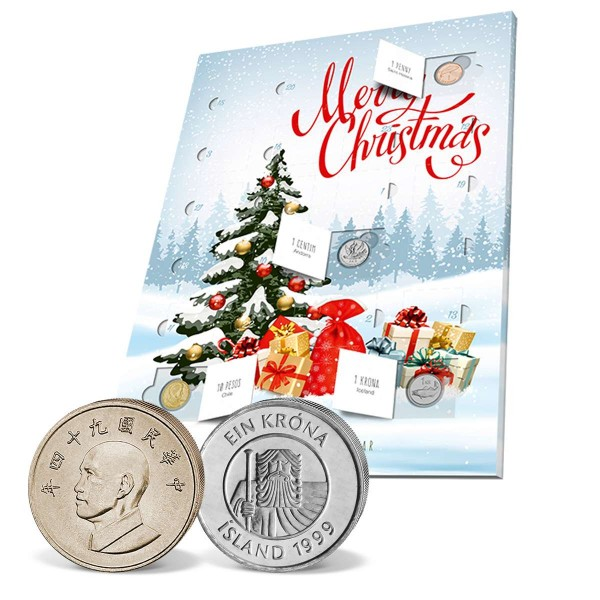 The Windsor Mint numismatic advent calendar UK_8811031_1