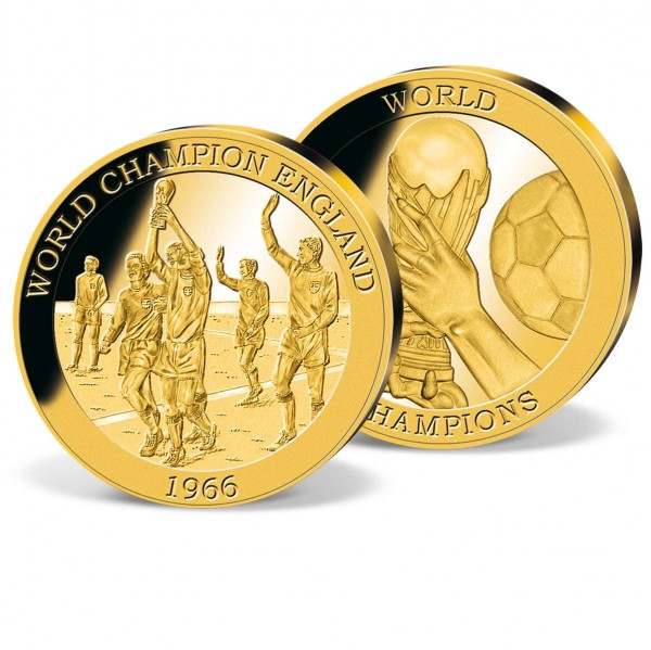 '1966 World Champions - England' Commemorative Gold Strike UK_2160550_1