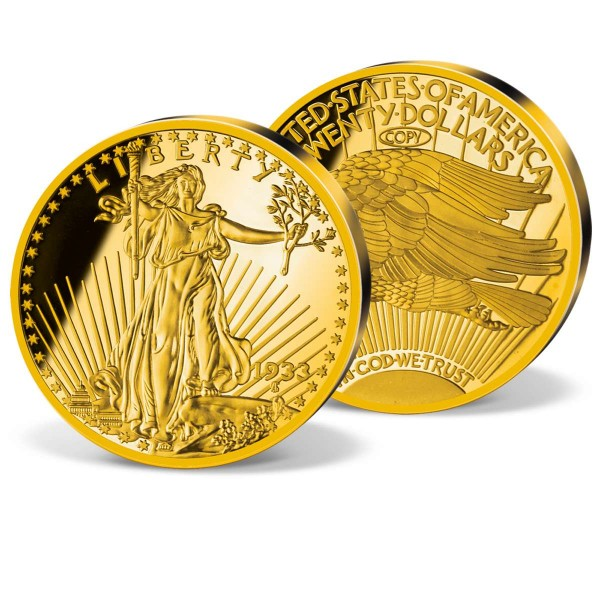 '1933 Gold Double Eagle' Replica UK_8200864_1