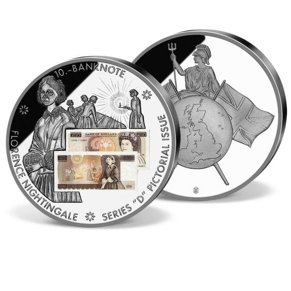 '£10 Banknote D' Commemorative Strike UK_1941041_1