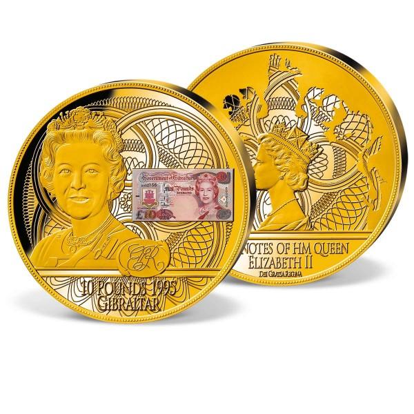 '£10 Banknote Queen Elizabeth II 1995' Commemorative Strike UK_1942201_1