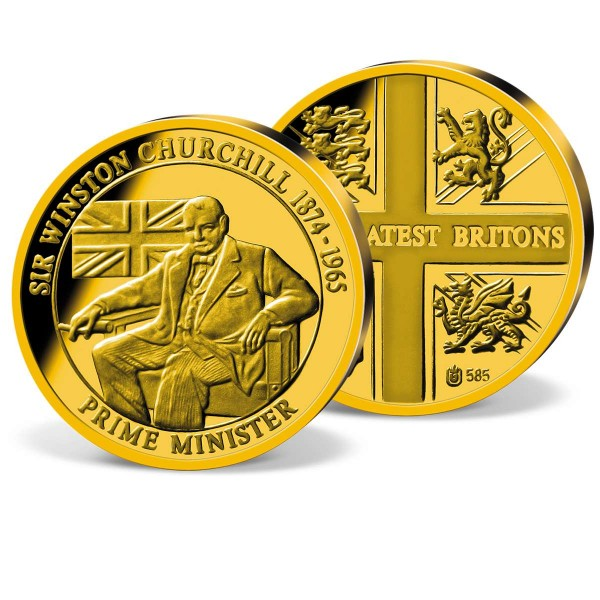 'Sir Winston Churchill' Commemorative Gold Strike UK_2160324_1
