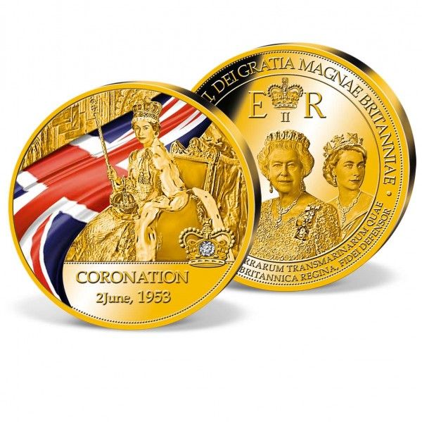 'Coronation of Queen Elizabeth II' Commemorative Strike UK_9173159_1