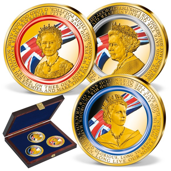 'National Anthem' Commemorative Strikes Set with Polymer Ring UK_9173480_1