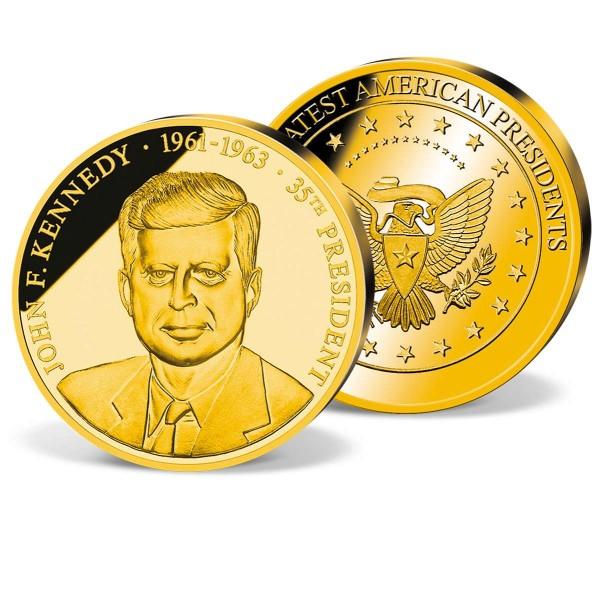 John F. Kennedy Commemorative Gold Strike UK_1711528_1