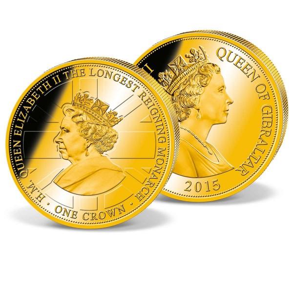 Official Crown Coin 'Queen Elizabeth II - Longest reigning monarch' UK_1683308_1